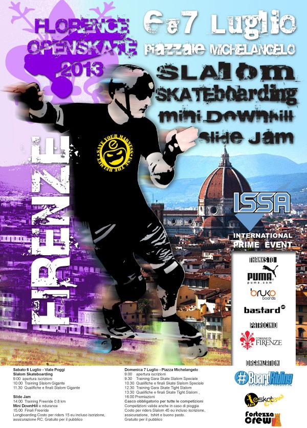 Locandina-Florence Open Skate 2013